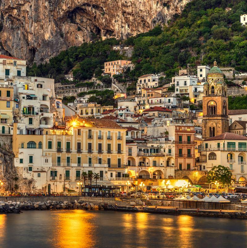 Amalfi at night