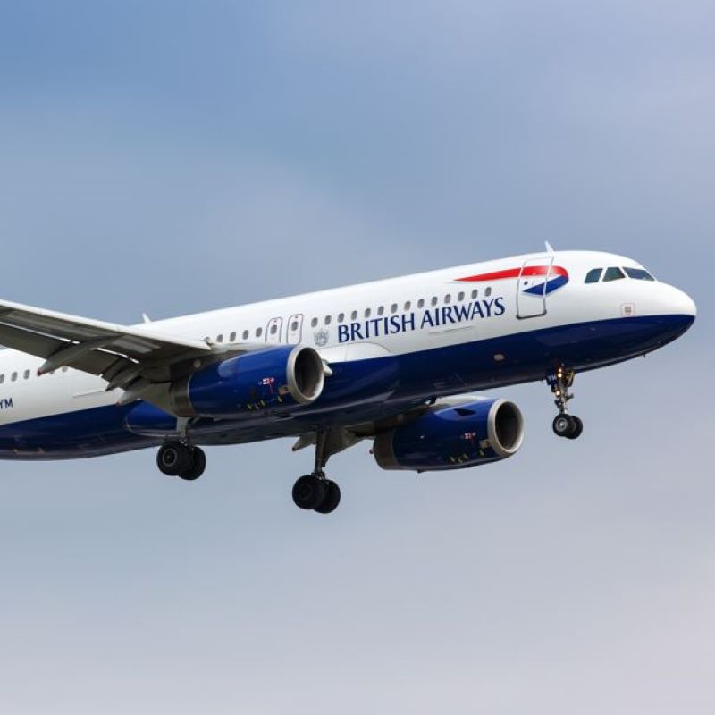 BA jet
