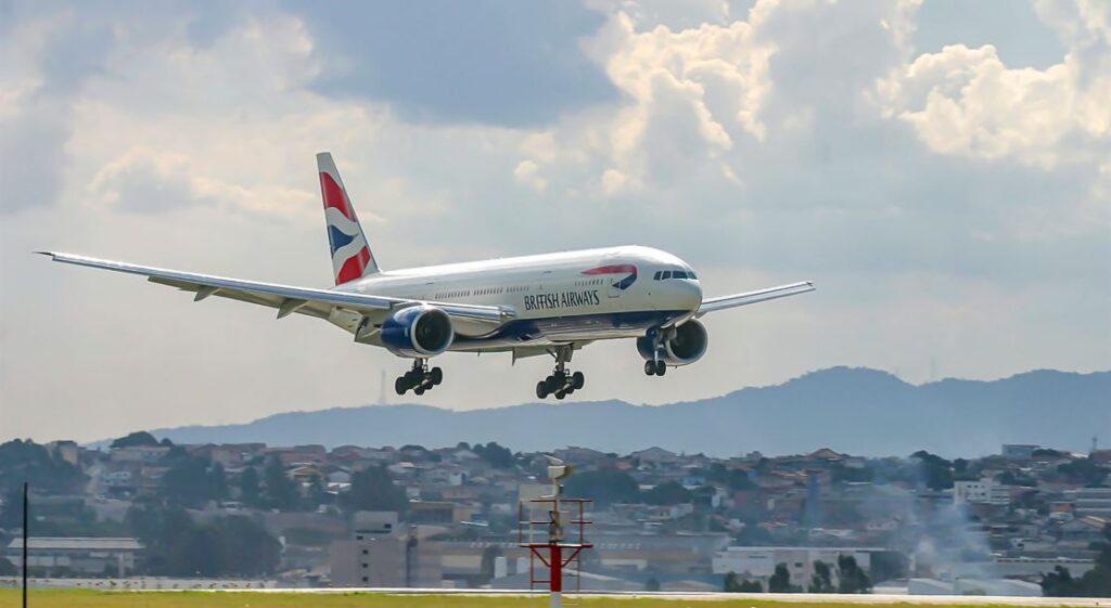 British Airways Fly Carbon Neutral Perfect Flight For First Time