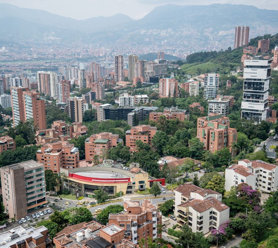 Colombia-skyline-of-buildings