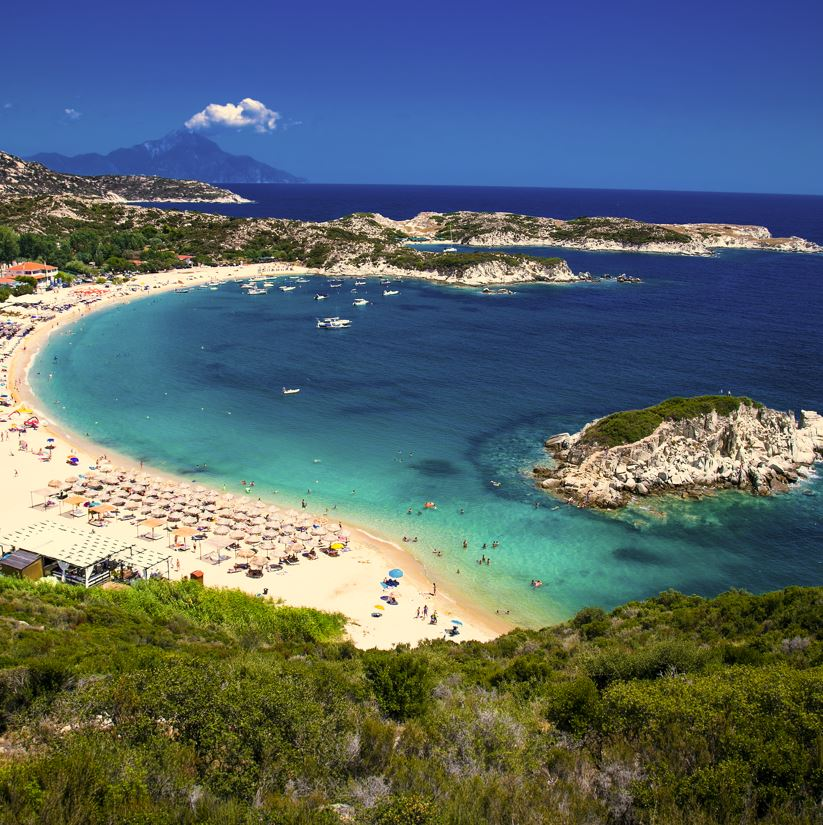 Sithonia beach, Greece