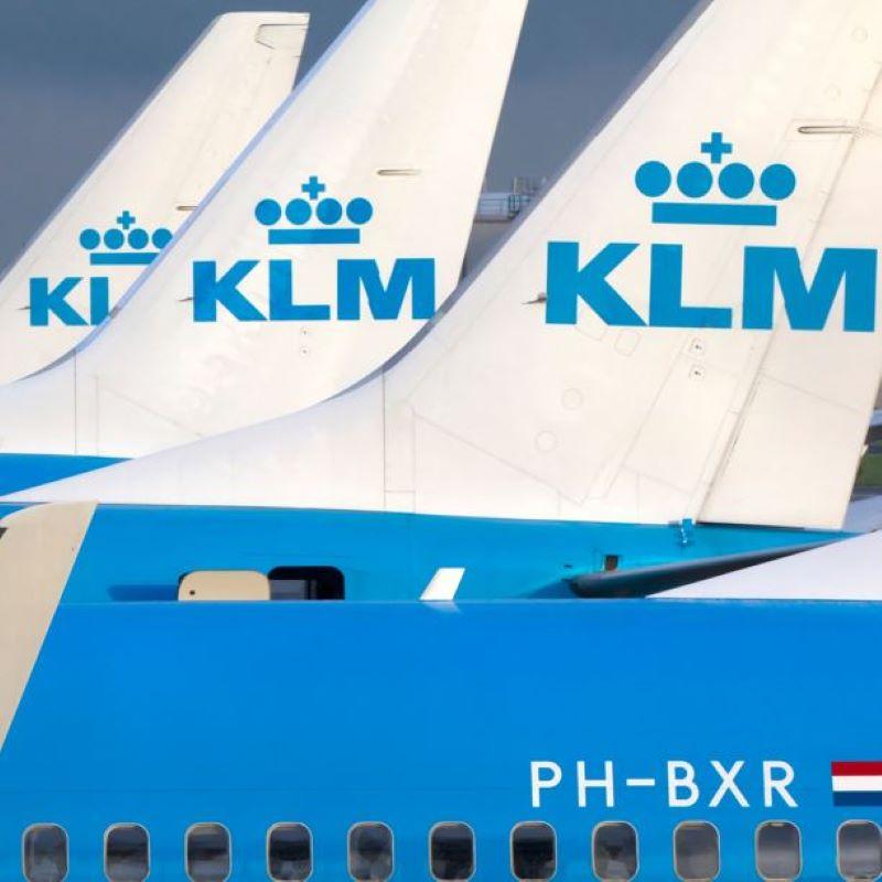 KLM tailfin