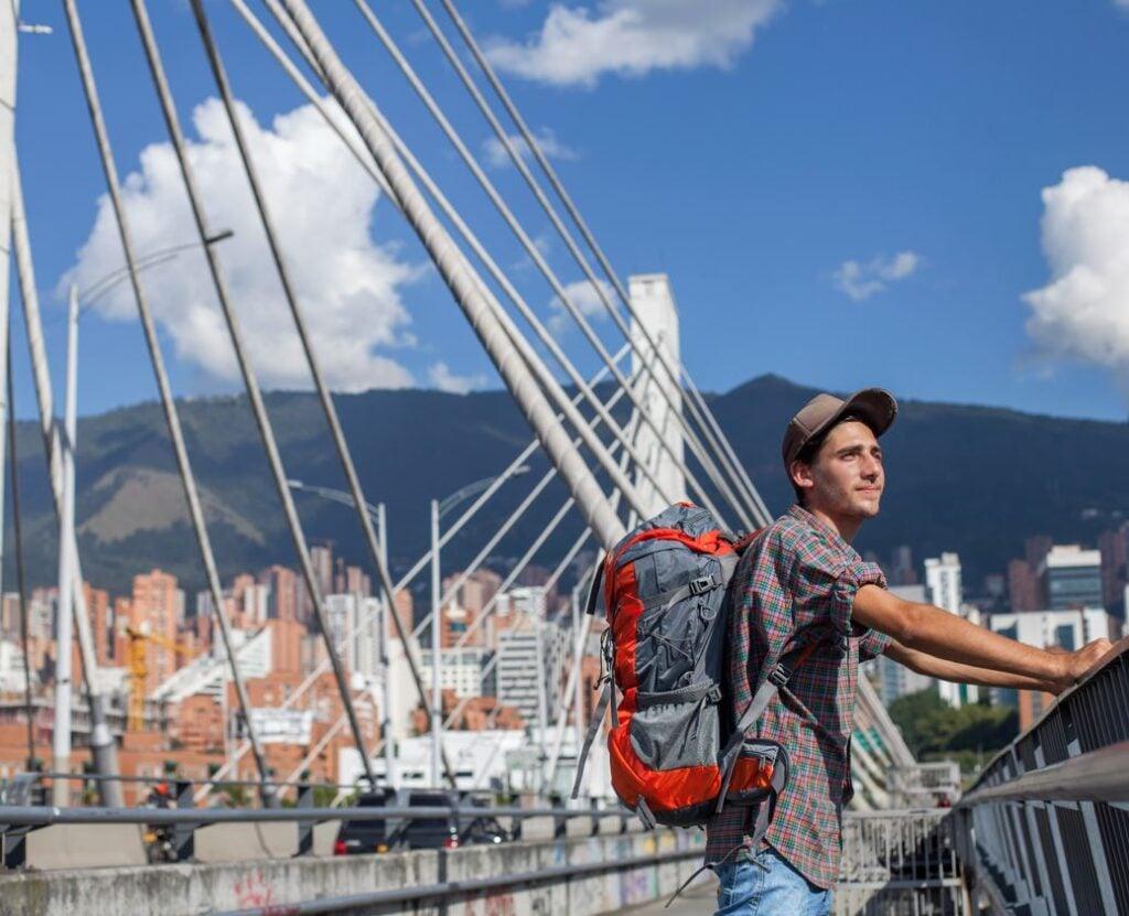 Medellin Colombia backpacker