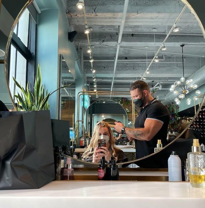 Saks Hair Salon fifth ave NYC