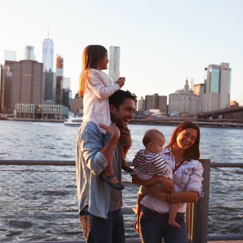 US american family