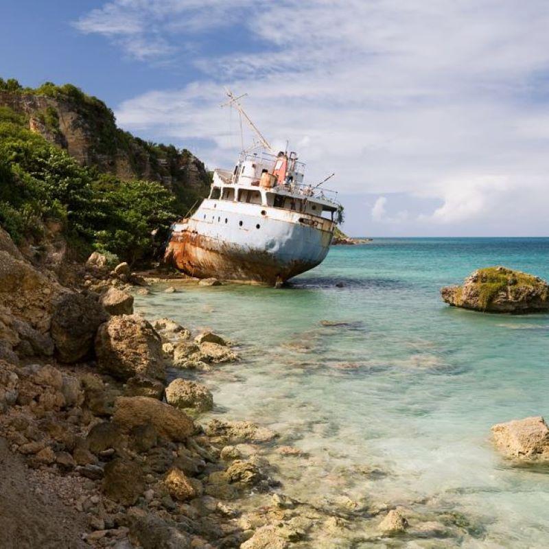 anguilla shipwreck