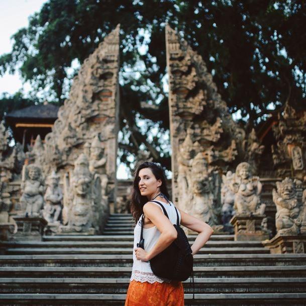 bali backpacker temple