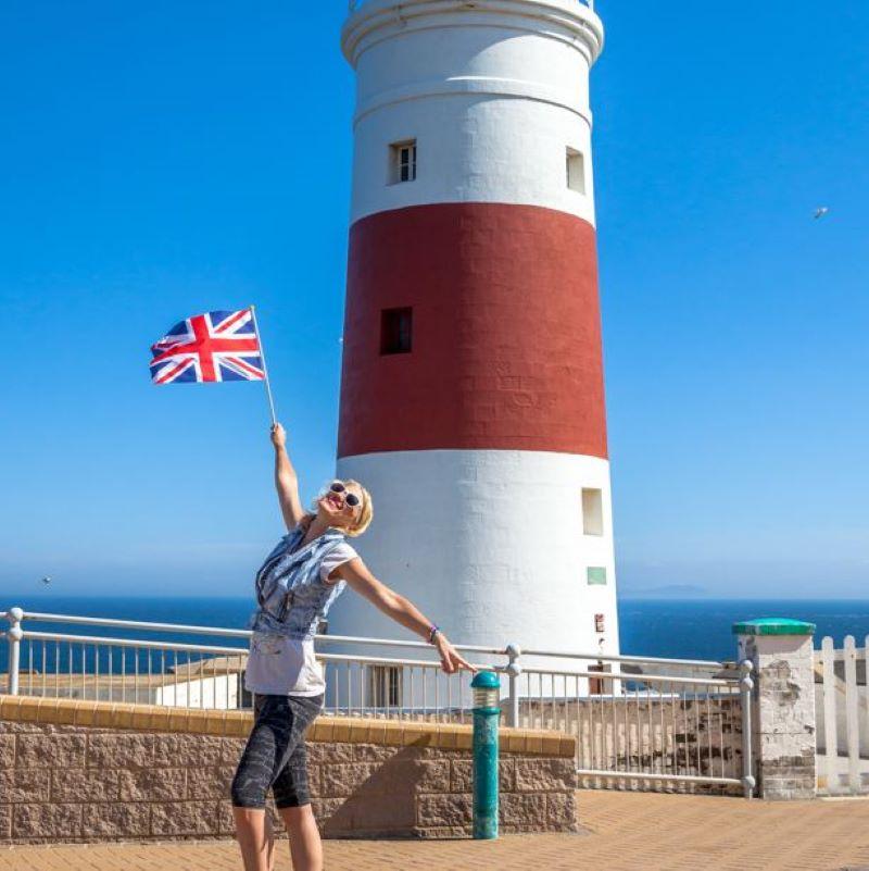 british traveler spain flag