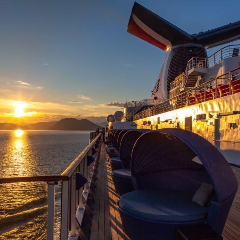 carnival cruise sunset