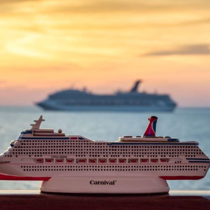 carnival ship model
