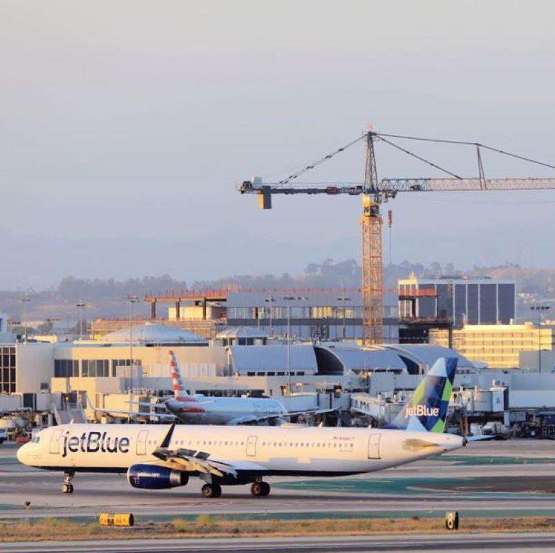 jetblue airplane lax