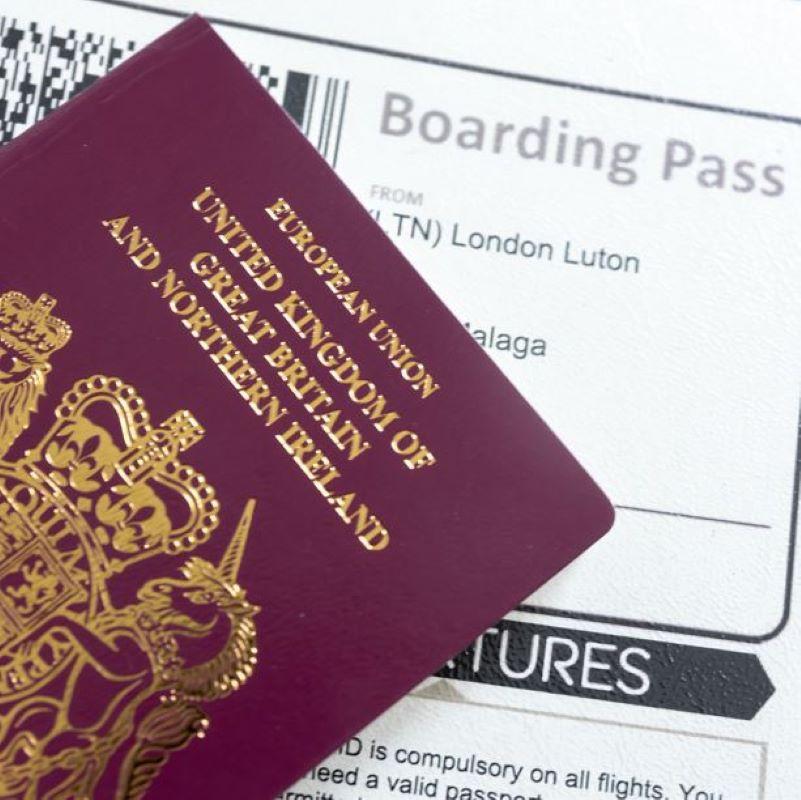passport british boarding pass