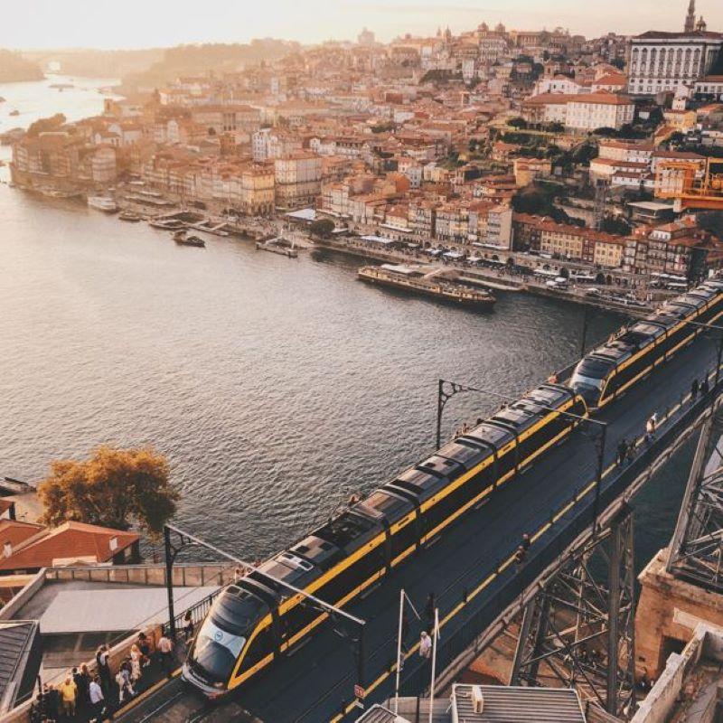 train in portugal