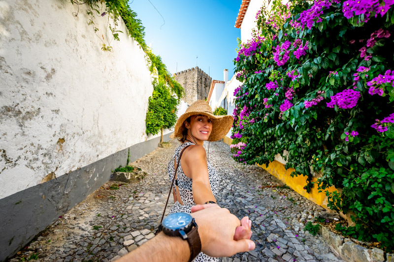 traveler in portugal