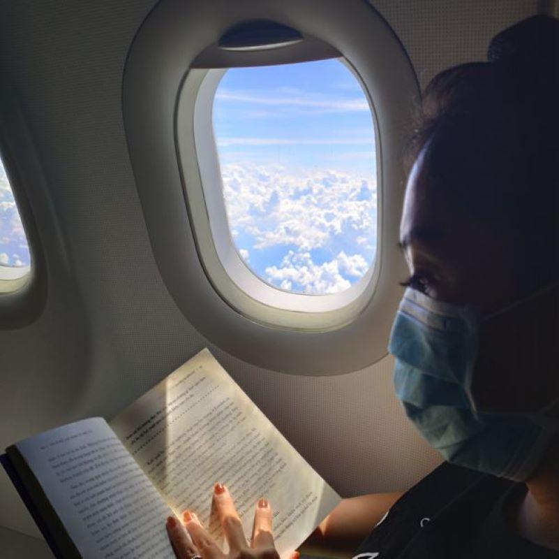 reading mask flight
