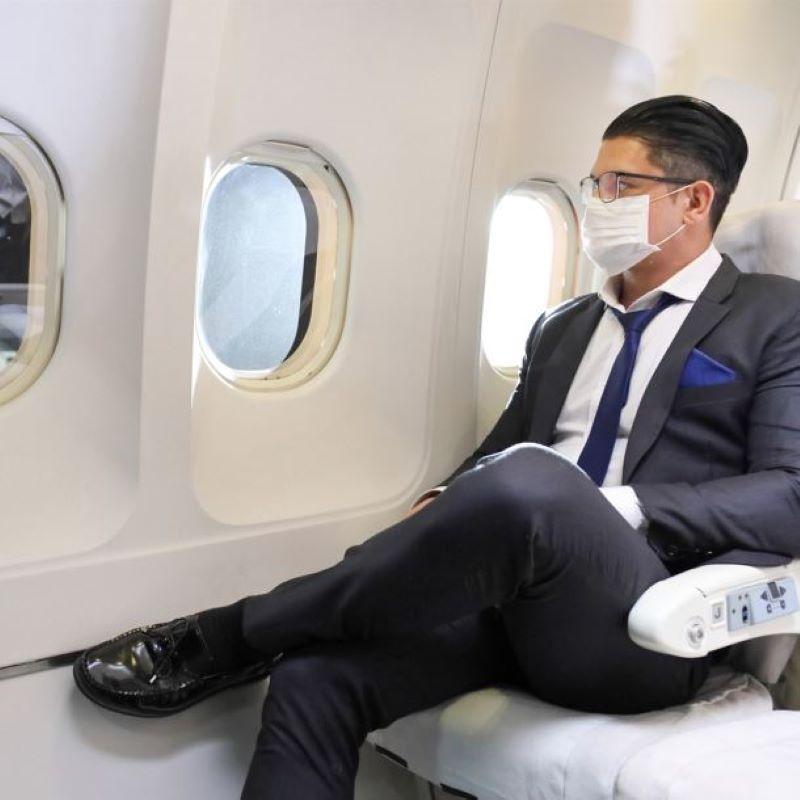 traveler mask business class