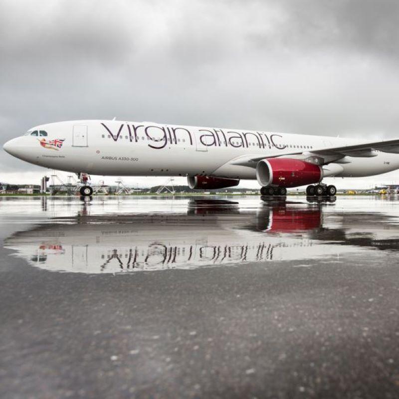 virgin airplane airport
