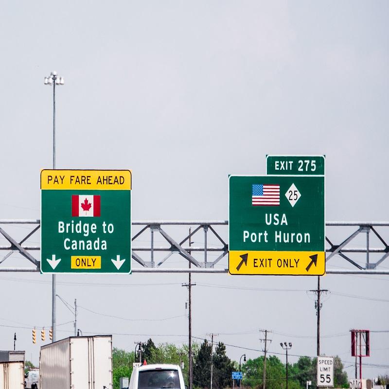 ridge to Canada Sign