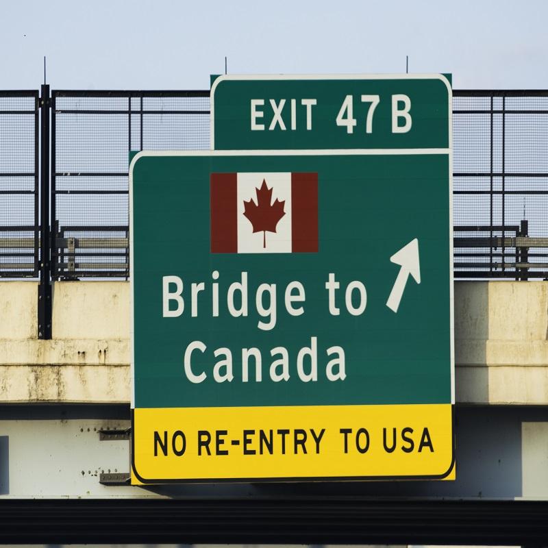 Canada US Land Border