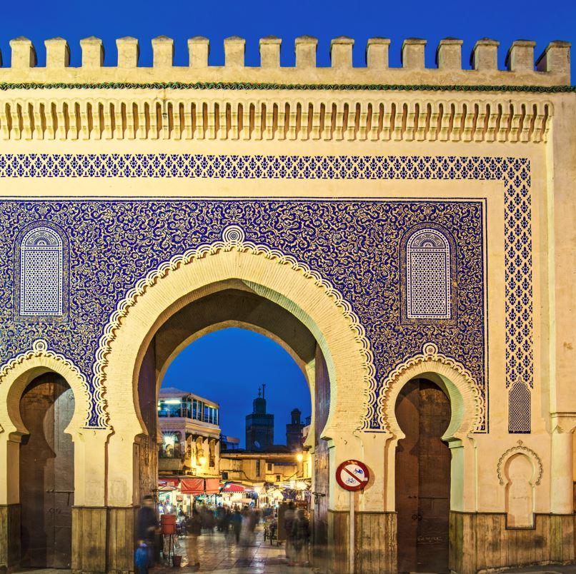 Fez medina gateway