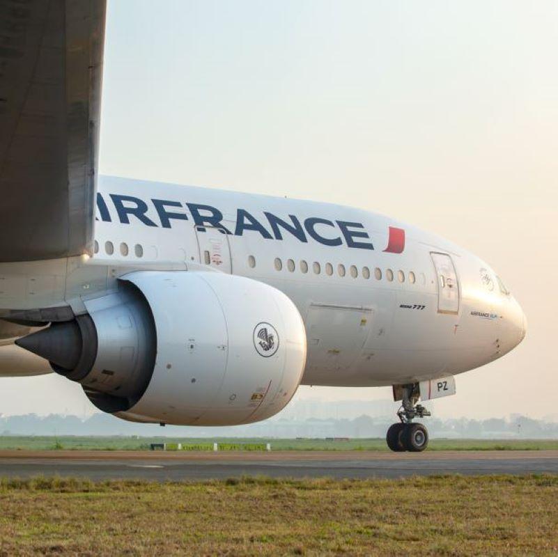 air france runway