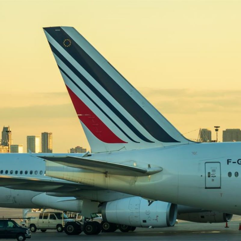 air france tail