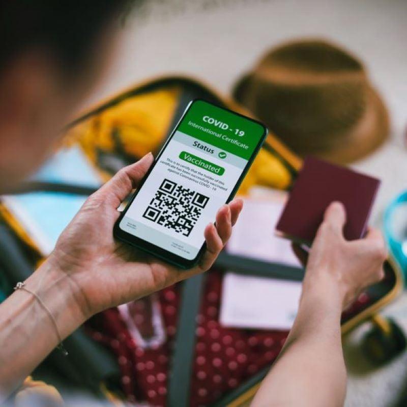 covid vaccine passport digital