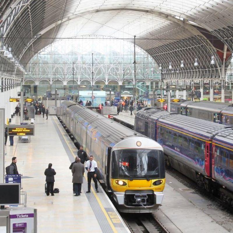 paddington station london trains