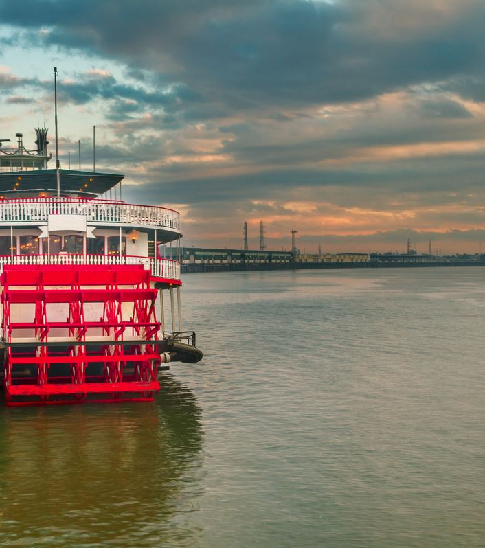 Cruise On A Steamboat