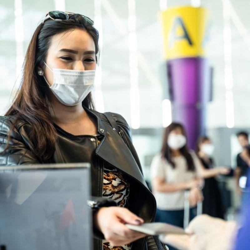 traveler mask check in