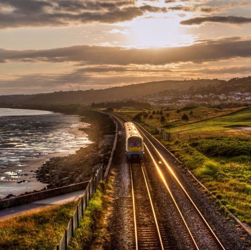 uk train sea