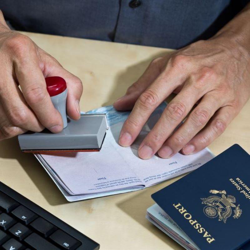 us passport stamp